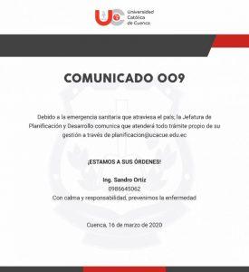 comunicado_009
