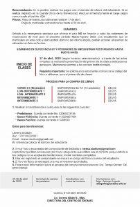 comunicado_centro_de_idiomas